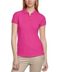 Camisa polo rosa de Mustang