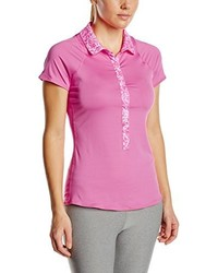 Camisa polo rosa de Nike