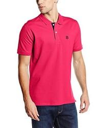 Camisa polo rosa de Selected