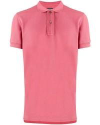 Camisa polo rosa de Tom Ford
