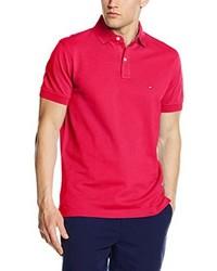 Camisa polo rosa de Tommy Hilfiger