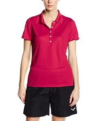 Camisa polo rosa de Trigema