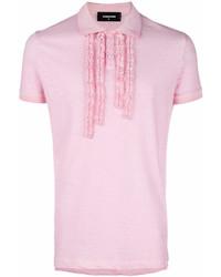 a83164fb12 Comprar una camisa polo rosada DSQUARED2