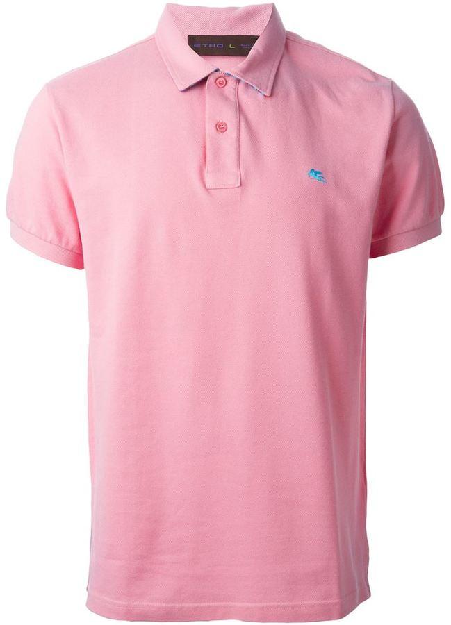 4a4f5f1a75b Camisa polo rosada de Etro, €120 | farfetch.com | Lookastic España