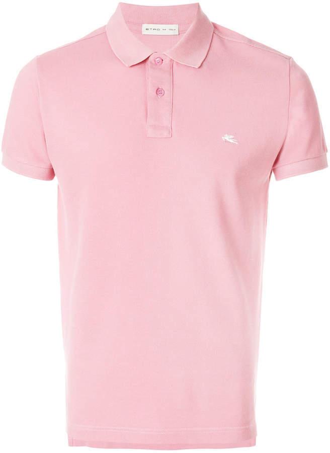 3f384c10ad7 Camisa polo rosada de Etro, €190 | farfetch.com | Lookastic España