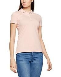 Camisa polo rosada de Hilfiger Denim