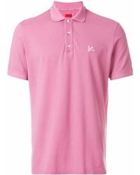 Camisa polo rosada de Isaia