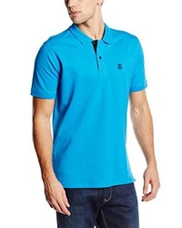 Camisa Polo Turquesa de Selected