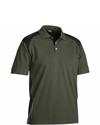 Camisa polo verde oliva de Blakläder