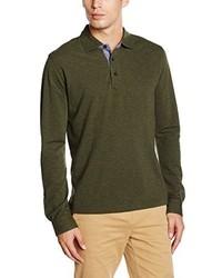 Camisa polo verde oliva de Brooks Brothers