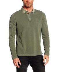 Camisa polo verde oliva de camel active
