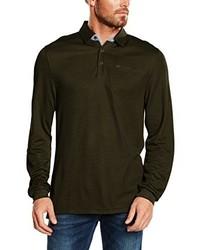 Camisa polo verde oliva de Casamoda