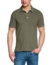 Camisa polo verde oliva de Eddie Bauer