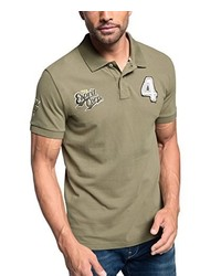 Camisa polo verde oliva de Esprit