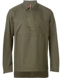 Camisa polo verde oliva de Oamc