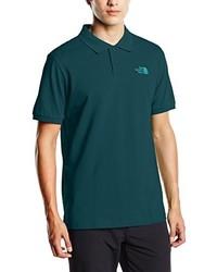 Camisa polo verde oscuro de The North Face