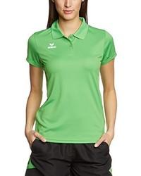 Camisa polo verde de erima