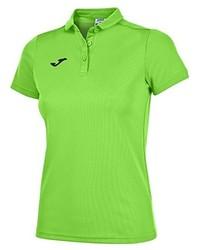 Camisa polo verde de Joma