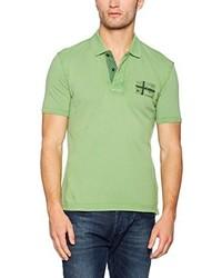 Camisa polo verde de Napapijri