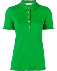 Camisa polo verde de Tory Burch
