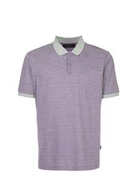 Camisa polo violeta claro de D'urban