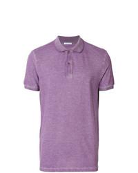 Camisa polo violeta claro de Tomas Maier