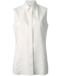 Camisa sin Mangas Blanca de McQ by Alexander McQueen