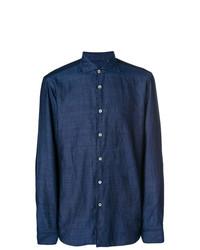 Camisa vaquera azul marino de Borriello