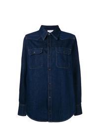 Camisa Vaquera Azul Marino de Calvin Klein Jeans Est. 1978