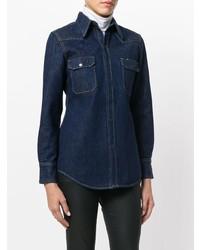 Camisa vaquera azul marino de Calvin Klein 205W39nyc