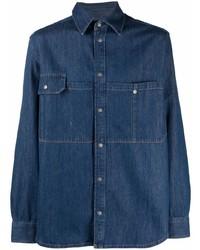 Camisa vaquera azul marino de Diesel
