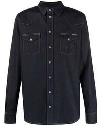 Camisa vaquera azul marino de Dolce & Gabbana