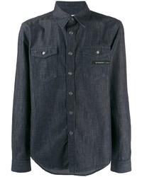 Camisa vaquera azul marino de Givenchy