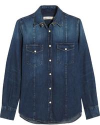 Camisa vaquera azul marino de Golden Goose Deluxe Brand