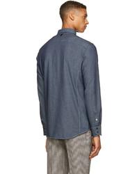 Camisa vaquera azul marino de rag & bone