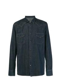 Camisa vaquera azul marino de Jacob Cohen