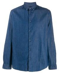 Camisa vaquera azul marino de Natural Selection