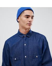 Camisa vaquera azul marino de Noak