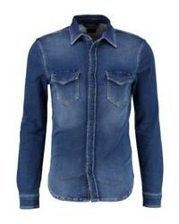 Camisa Vaquera Azul Marino de Pepe Jeans