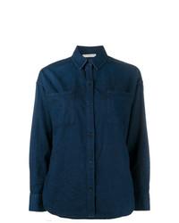 Camisa Vaquera Azul Marino de Vince