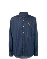 Camisa vaquera azul marino de Vivienne Westwood Anglomania