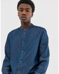 Camisa vaquera azul marino de Weekday