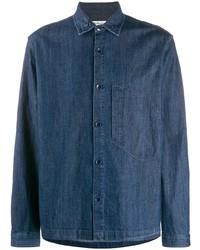 Camisa vaquera azul marino de YMC
