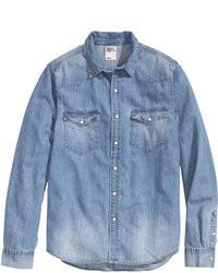 Camisa vaquera azul original 2767407