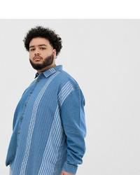 Camisa vaquera azul de ASOS DESIGN