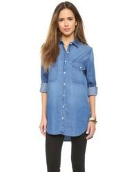Camisa vaquera azul de BB Dakota