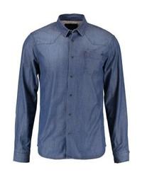 Camisa Vaquera Azul de BONOBO Jeans