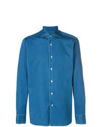 Camisa vaquera azul de Borriello