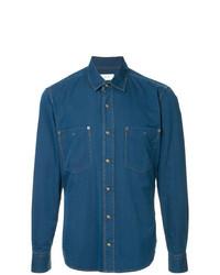 Camisa vaquera azul de Cerruti 1881