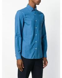 Camisa vaquera azul de Aspesi